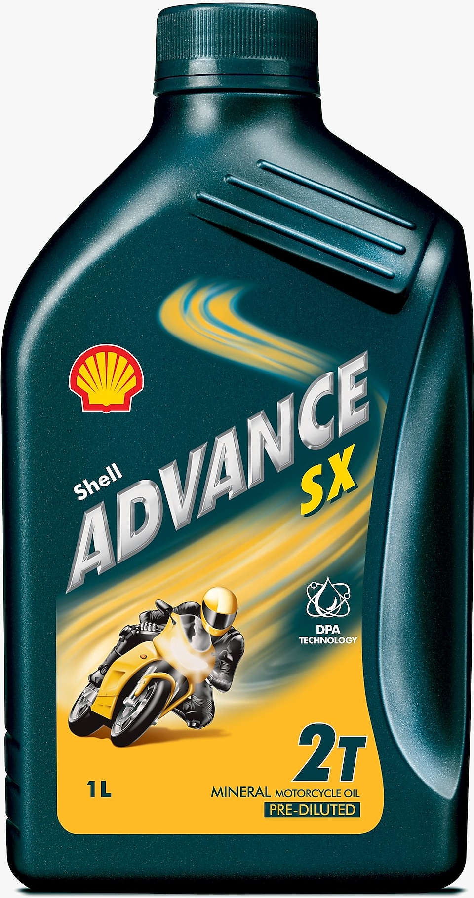 Foto del envase de Shell Advance SX 2