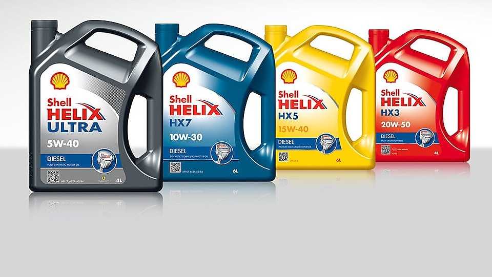 Lubricantes para motor Shell Helix Diesel