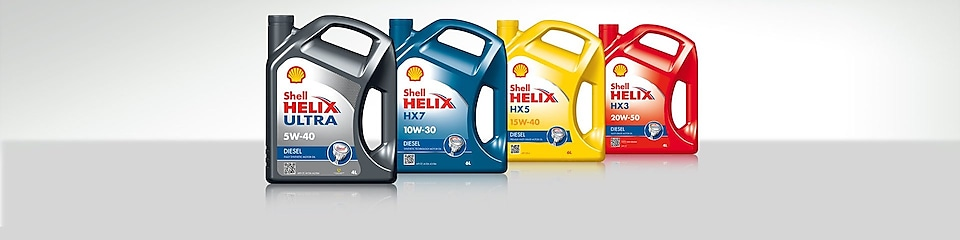 Gama de aceites Shell Helix Diesel
