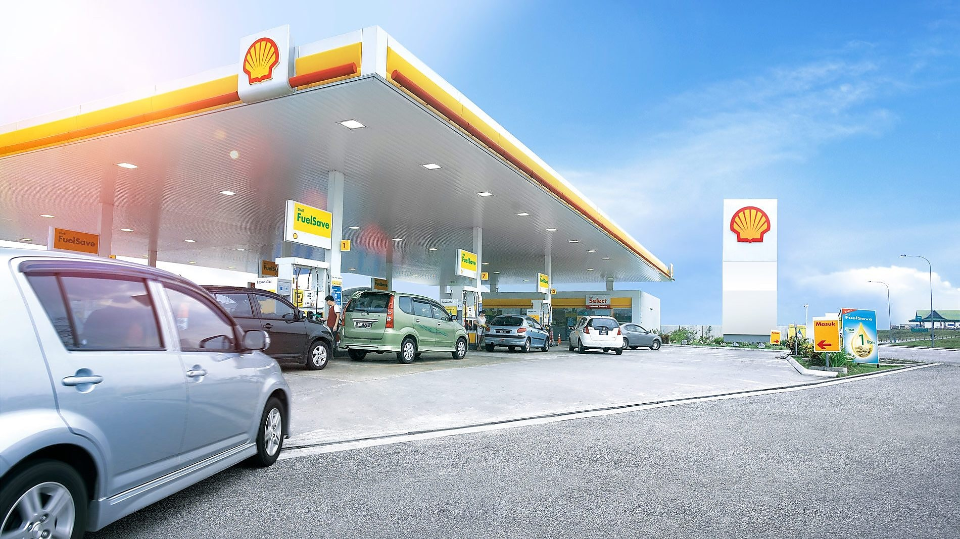 Carburantes Shell FuelSave